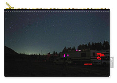 Perseid Meteor-julian Night Lights Carry-all Pouch
