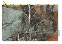 Carry-all Pouch featuring the photograph Perseverance by Mim White