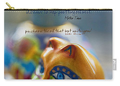 Carry-all Pouch featuring the photograph Perseverance by Vicki Ferrari