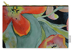 Carry-all Pouch featuring the painting Persevere by Beverley Harper Tinsley