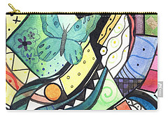 Persistence Of Form Carry-all Pouch