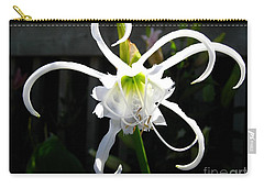 Peruvian Daffodil Named Advance Carry-all Pouch by J McCombie