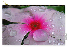Carry-all Pouch featuring the photograph Petal Surfing by Patti Whitten