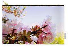 Petals In The Wind Carry-all Pouch by Robyn King