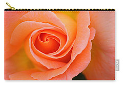 Petals Of Peach Carry-all Pouch
