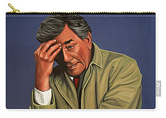 Peter Falk As Columbo Carry-all Pouch