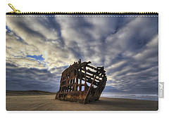 Peter Iredale Shipwreck Sunrise Carry-all Pouch