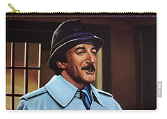 Peter Sellers As Inspector Clouseau  Carry-all Pouch by Paul Meijering