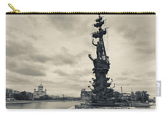 Peter The Great Monument In The Moscva Carry-all Pouch