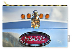 Peterbilt 2 Carry-all Pouch by Theresa Tahara