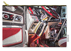 Peterbilt Interior Carry-all Pouch by Theresa Tahara