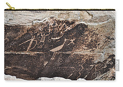 Petroglyph Bird Carry-all Pouch