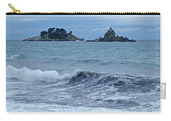 Carry-all Pouch featuring the photograph Petrovac - Katic Islands - Montenegro by Phil Banks