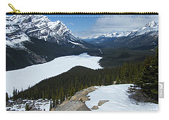Carry-all Pouch featuring the photograph Peyto Lake - Icefields Parkway - Canada by Phil Banks
