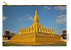 Temple Of Pha That Luang Laos Carry-all Pouch