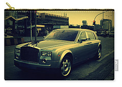 Carry-all Pouch featuring the photograph Rolls Royce Phantom by Salman Ravish