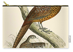 Pheasant Carry-all Pouch by Beverley R Morris