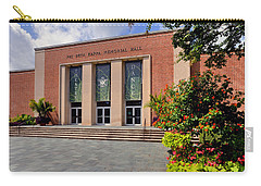 Carry-all Pouch featuring the photograph Phi Beta Kappa Hall by Jerry Gammon