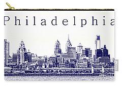 Philadelphia Blueprint  Carry-all Pouch