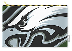 Philadelphia Eagles Football Carry-all Pouch
