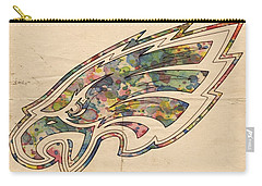 Philadelphia Eagles Poster Vintage Carry-all Pouch