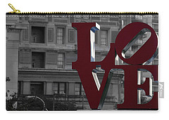 Philadelphia Love Carry-all Pouch by Terry DeLuco