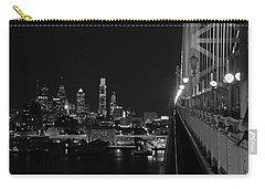 Philadelphia Night B/w Carry-all Pouch