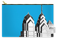 Philadelphia Skyline Liberty Place 1 - Ice Blue Carry-all Pouch