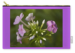 Phlox Carry-all Pouch