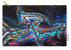 Carry-all Pouch featuring the digital art Phoenix by Richard Thomas