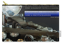 Photographer Quote Carry-all Pouch