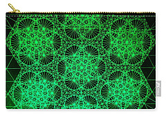 Photon Interference Fractal Carry-all Pouch