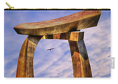 Pi In The Sky Carry-all Pouch by Paul Wear