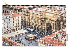 Piazza Della Repubblica Carry-all Pouch by Liz Leyden
