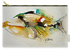 Carry-all Pouch featuring the painting Picasso Trigger by Jani Freimann