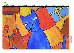 Picasso's Blue Cat Carry-all Pouch