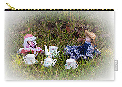 Picnic For Dolls Carry-all Pouch