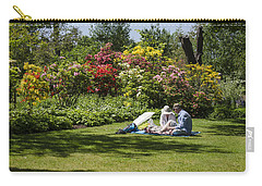 Summer Picnic Carry-all Pouch by Spikey Mouse Photography