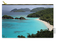 Piece Of Paradise Carry-all Pouch by Fiona Kennard