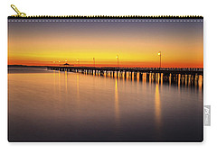 Pier Before Dawn Carry-all Pouch