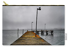 Pier Into The Fog Carry-all Pouch