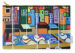 Carry-all Pouch featuring the painting Pier One by Anthony Falbo