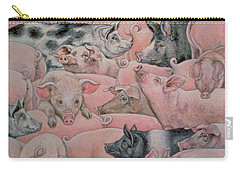 Pig Spread Carry-all Pouch by Ditz