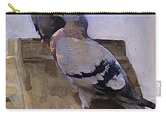 Pigeons On The Roof Carry-all Pouch