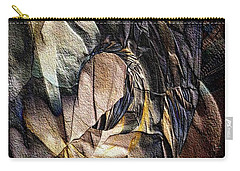 Pigmented Sandstone Carry-all Pouch by Ron Bissett
