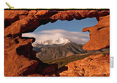 Pikes Peak Framed Carry-all Pouch
