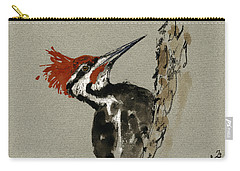 Woodpecker Carry-all Pouches