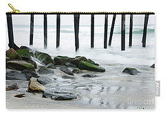 Pilings At Oceanside Carry-all Pouch
