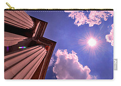 Carry-all Pouch featuring the photograph Pillars In The Sun by Matt Harang