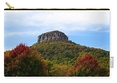Pilot Mountain From 52 Carry-all Pouch
